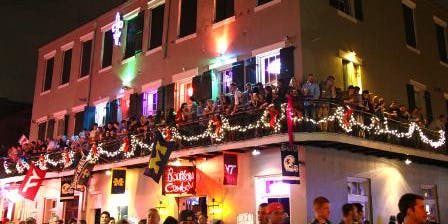Mardi Gras Balcony Party Saturday, Feb 15th, 2020