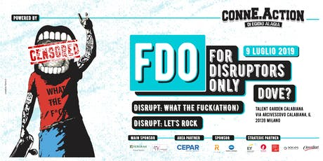 FDO - For Disruptors Only #11 biglietti