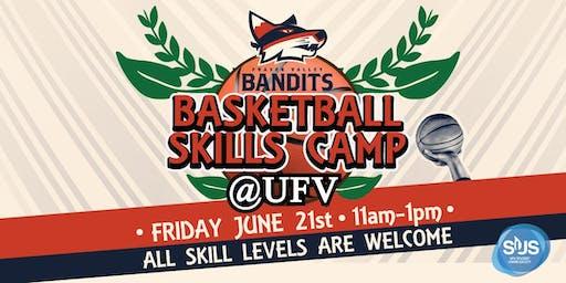 Fraser Valley Bandits Skills Camp at SUS