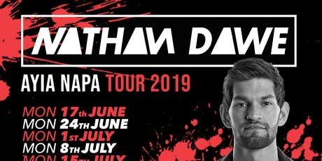 Nathan Dawe Ayia Napa Tour 2019 tickets