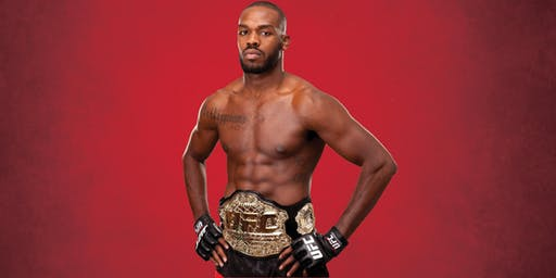 "UFC Champion Jon ""Bones"" Jones"