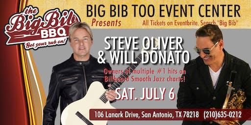 Billboard #1 Hit Artists Steve Oliver & Will Donato at The Big Bib Too!