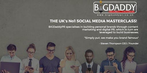 THE UK's No1 SOCIAL MEDIA MASTERCLASS 2019!