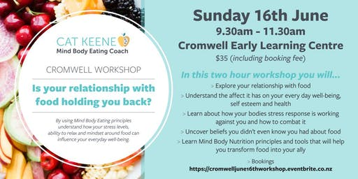 Is your relationship with food holding you back? - Cromwell Workshop