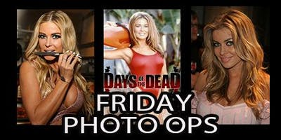 Days of the Dead Carmen Electra Photo Op - Friday
