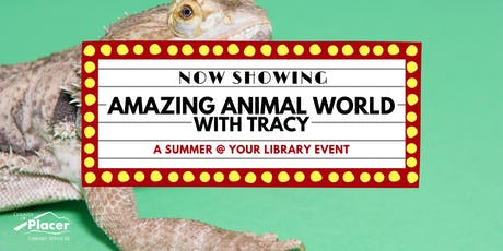 Amazing Animals with Tracy at Tahoe City Library tickets