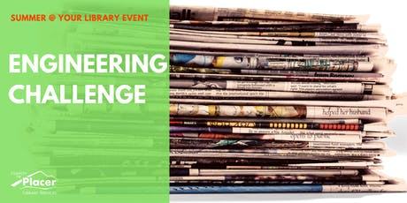 Engineering Challenge at Granite Bay Library tickets