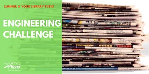 Engineering Challenge at Granite Bay Library