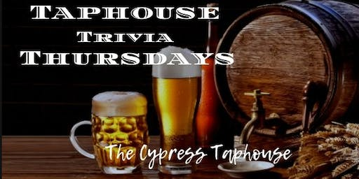 Taphouse Trivia Thursdays