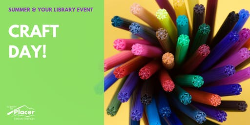 Craft Day! at Colfax Library