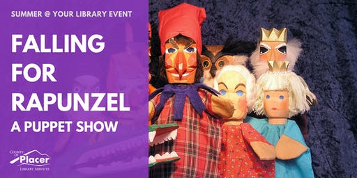 Falling for Rapunzel: A Puppet Show at Tahoe City Library