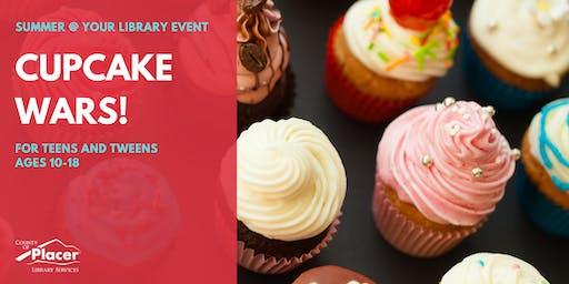 Cupcake Wars at Rocklin Library