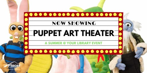 Puppet Art Theater hosted by Auburn Library