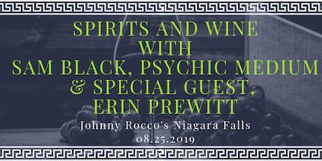 Spirits & Wine with Sam Black Psychic Medium and Intuitive Erin Prewitt tickets