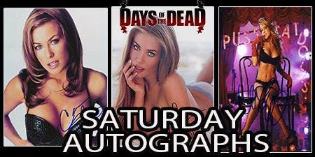 Days of the Dead Carmen Electra Autograph - Saturday