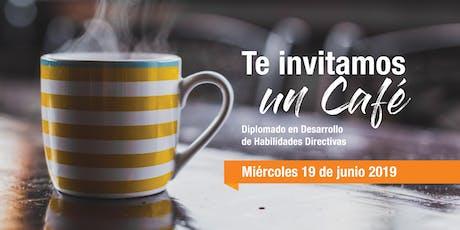 Café Informativo - Diplomado en Habilidades Directivas boletos