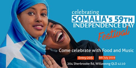 Somalia's 59th Independence day Festival tickets