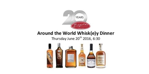 Around the World Whisk(e)y Dinner