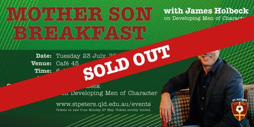 Mother Son Breakfast: Developing Men of Character