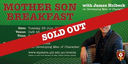 Mother Son Breakfast: Developing Men of Character