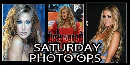 Days of the Dead Carmen Electra Photo Op - Saturday