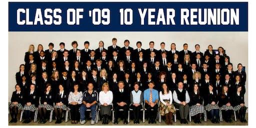 Burgmann Anglican School 2009 10 Year Alumni Reunion