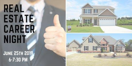 June 2019 : SPOKANE / Real Estate Career Night tickets
