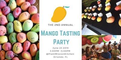 Mango Tasting Party!