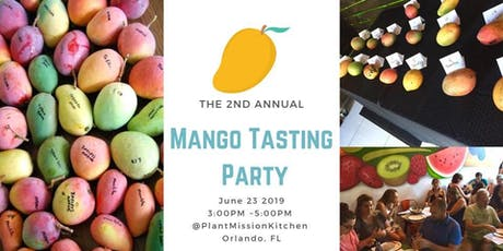 Mango Tasting Party! tickets