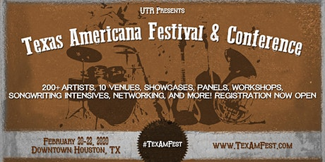 Texas Americana Festival and Conference tickets