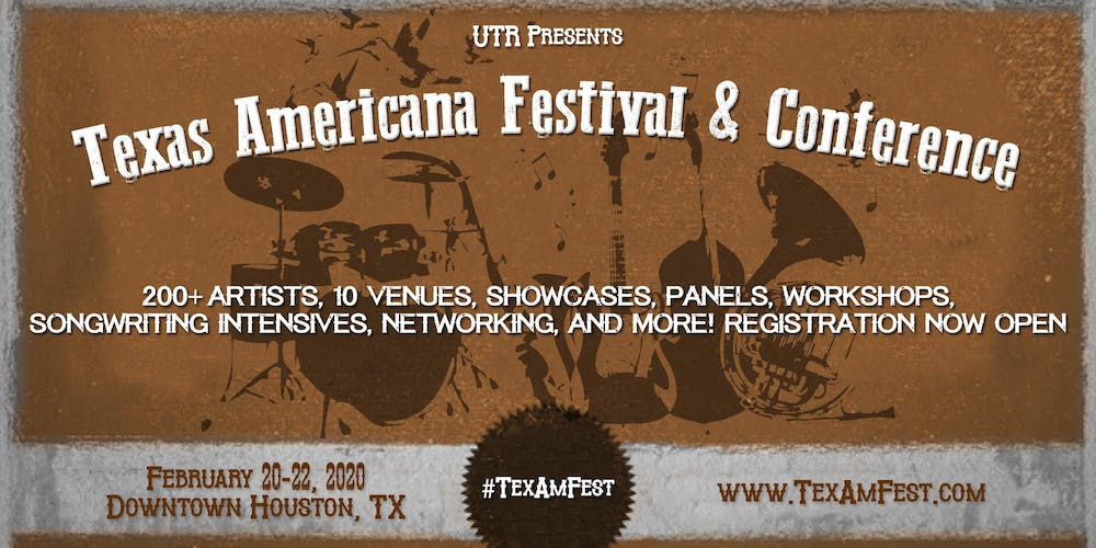 Texas Americana Festival and Conference Tickets, Thu, Feb 20