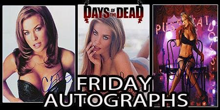 Days of the Dead Carmen Electra Autogragh - Friday