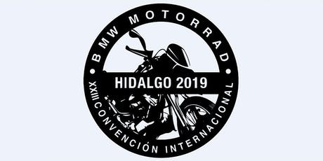XXIII Convención Internacional BMW Motorrad Hidalgo 2019 boletos
