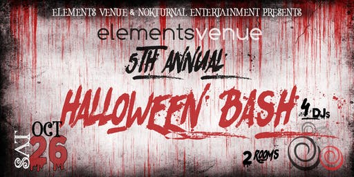 5th Annual Halloween Bash 2019