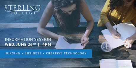 Information Session - Sterling College tickets