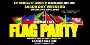 THE BIG FLAG PARTY AT AMAZURA #GQEVENT #AMAZURA