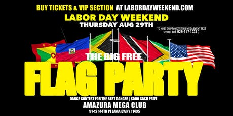 THE BIG FLAG PARTY AT AMAZURA #GQEVENT #AMAZURA  tickets