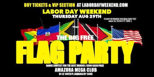THE BIG FLAG PARTY AT AMAZURA #GQEVENT #AMAZURA