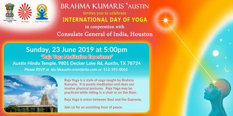 International Day of Yoga with Brahma Kumaris - Austin/Round Rock/Cedar Park tickets