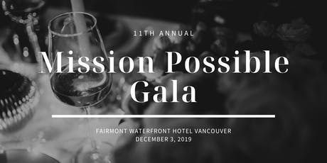 11th Annual Mission Possible Gala tickets