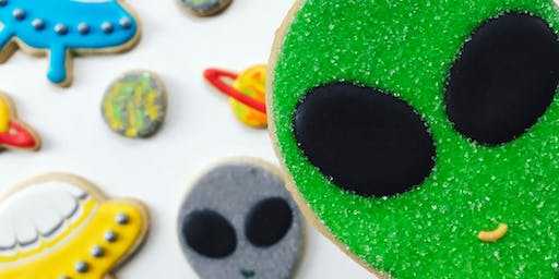 Galaxy Cookie Decorating Workshop for Kiddos