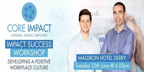 Impact Success - Maldron Hotel Derry tickets