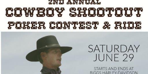 2nd Annual Cowboy Shootout Poker Contest & Ride