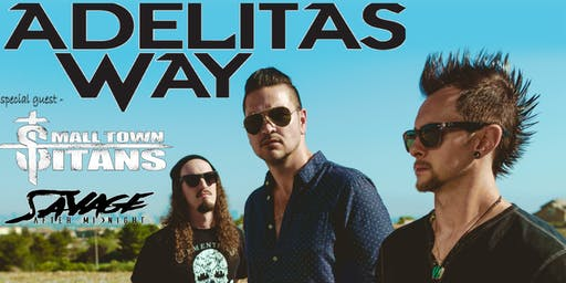 Adelitas Way w/ Small Town Titans at Bigs Bar Sioux Falls
