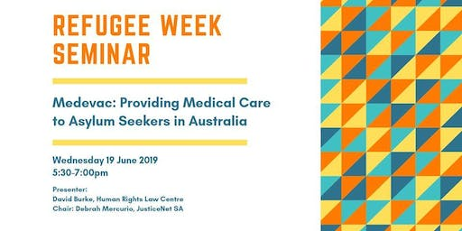 Medevac Law: Urgent Medical Care in Australia for Asylum Seekers from Offshore Detention Centres