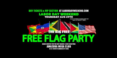 THE BIG FREE FLAG PARTY #FREE LINK AMAZURA tickets