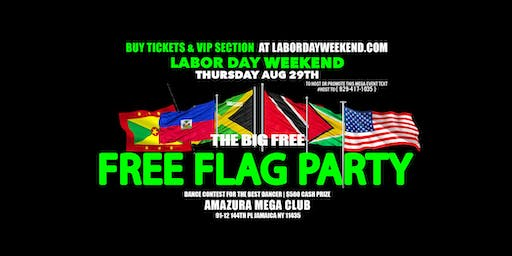THE BIG FREE FLAG PARTY #FREE LINK AMAZURA