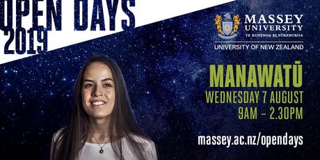 Massey University Open Day - Manawatū  tickets