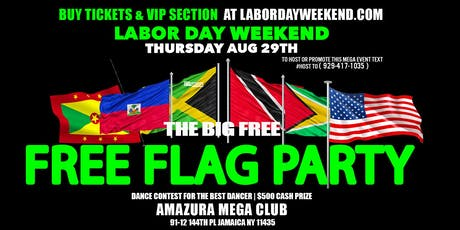 FREE FLAG PARTY #FREE LINK AMAZURA  tickets