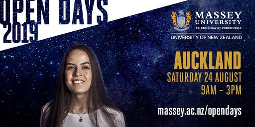 Massey University Open Day - Auckland